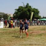 Christian Steinhammer und Valentin Pfeil bei den Kenianischen Crosslaufmeisterschaften 2013