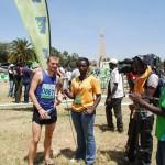 Christian Steinhammer im Interview nach den Kenianischen Crosslaufmeisterschaften 2013